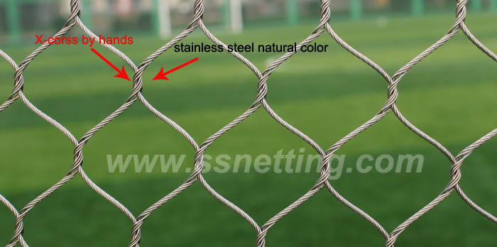 Wire rope netting suppliers, cable mesh netting for sale, stainless steel wire netting manufacture