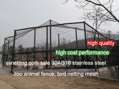 stainless steel screen protective mesh, stainless steel wire rope mesh, stainless steel cable mesh, wire rope hand woven mesh