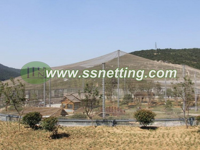 Large birds cage netting, birds forest mesh, the bird garden fence mesh, aviary fence netting, parrot cage mesh