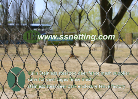 Stainless steel zoo deer fence mesh supplier.jpg