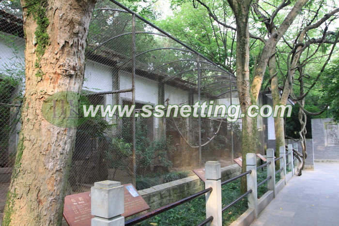 Hand woven ss Zoo animal safety fence, Enclosure of zoo cages, Bird aviary netting