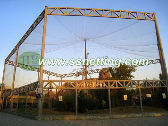 Outdoor eagle netting, eagle park netting, eagle home net, eagle cage roof netting