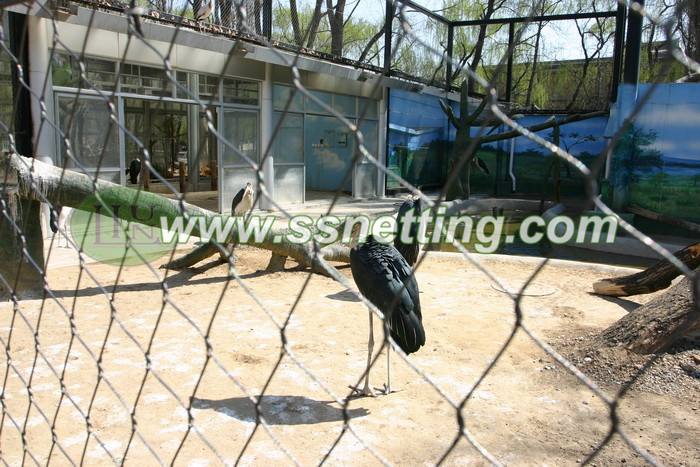 Crane cage netting Design and construction