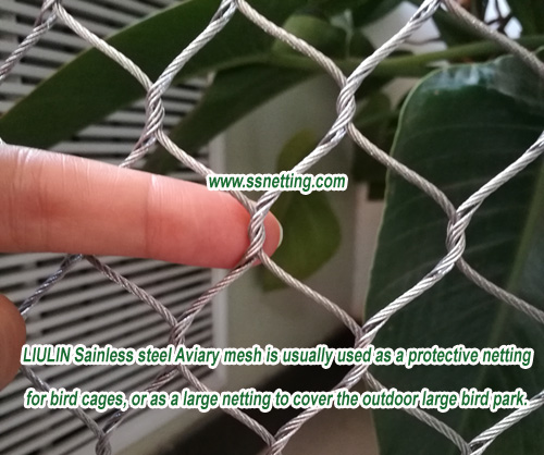 Sainless steel Aviary mesh