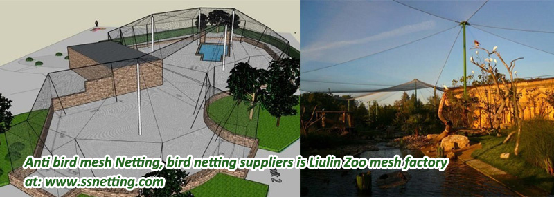 Anti bird mesh Netting