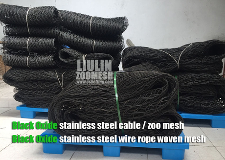 Black oxide stainless steel wire rope mesh suppliers.jpg