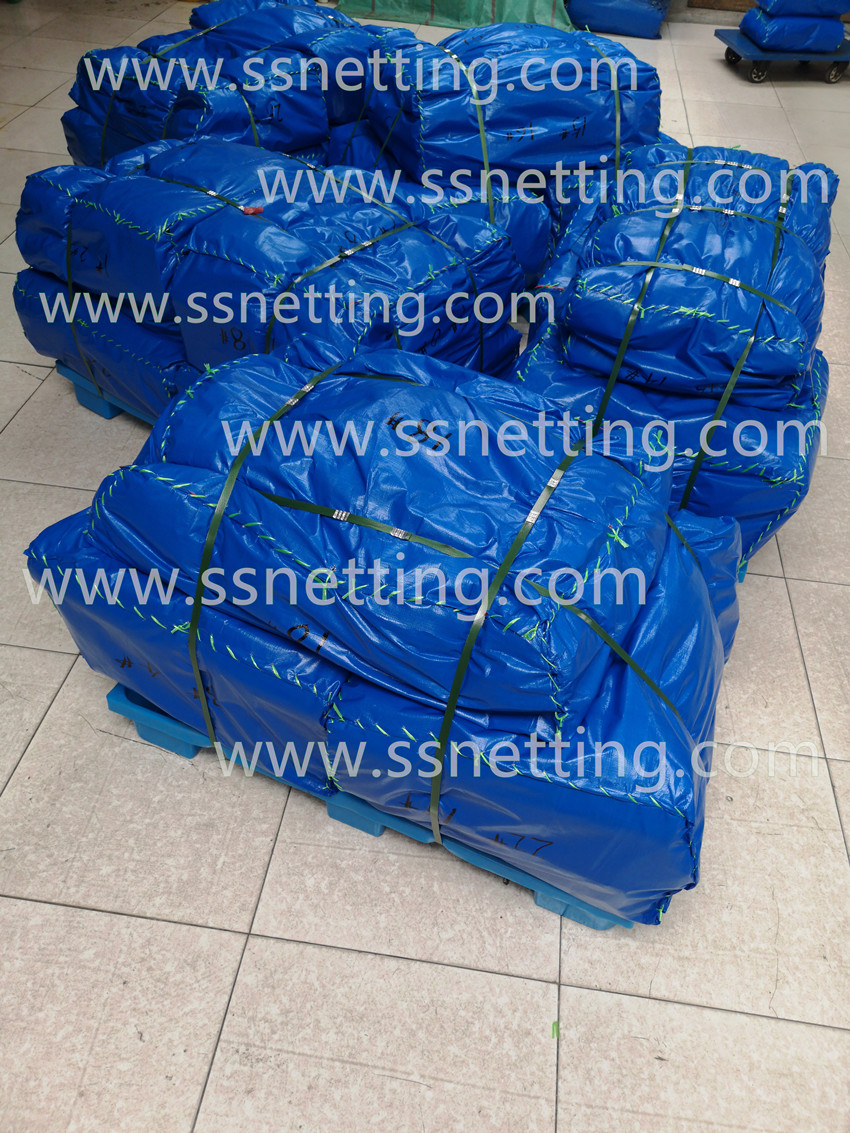 Stainless Steel Wire Rope Mesh for USA Customer- Liulin Order Sent