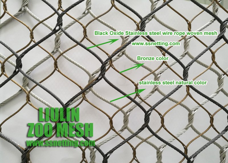 Best Price Flexible Stainless Steel Wire Rope Zoo Mesh