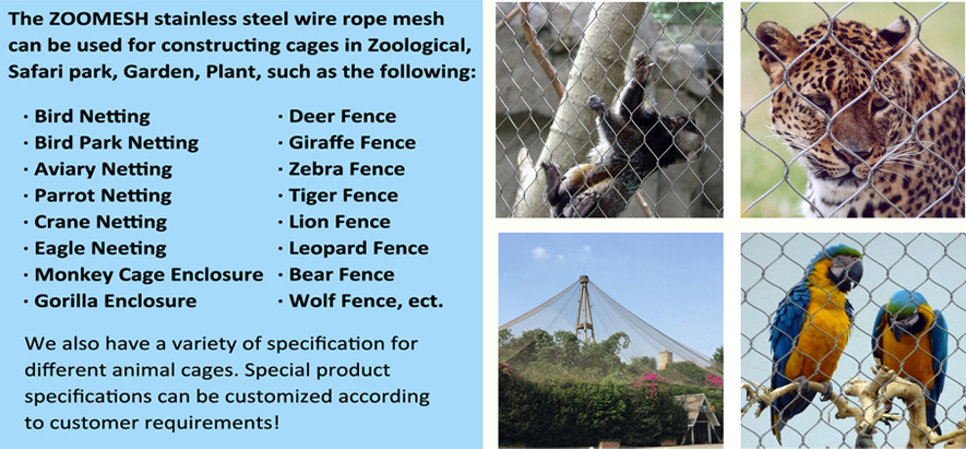 Zoo cage design description (reprint)