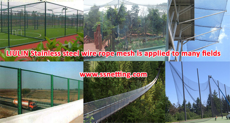 LIULIN Stainless steel wire rope mesh is applied to many fields.jpg