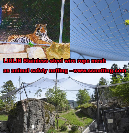 Stainless steel wire rope mesh as animal safety netting.jpg