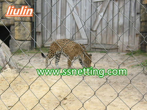 leopard cage fence netting manufacturers project