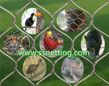 wire rope zoo netting design construction by liulin stainless steel zoo mesh manufacturer supply