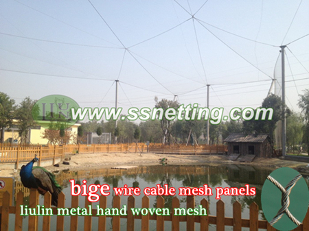 wire cable netting, metal bird cage enclosure fence netting-liulin metal steel wire mesh ltd.