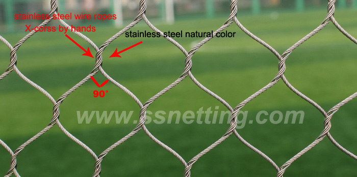 Factory directly Sale & Export Hand woven Stainless steel zoo netting