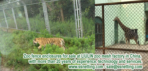 Zoo fence enclosures for sale at LIULIN zoo mesh factory in China, with more than 20 years of experience, technology and services.