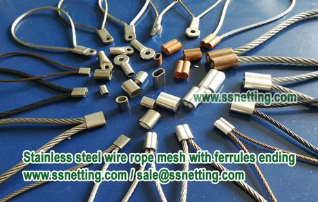 Stainless steel wire rope mesh with ferrules ending.jpg