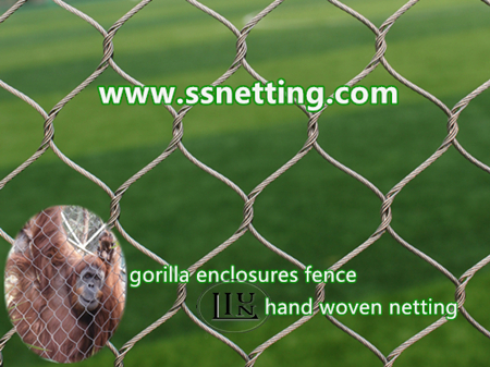 stainless steel gorilla enclosures fence mesh.jpg