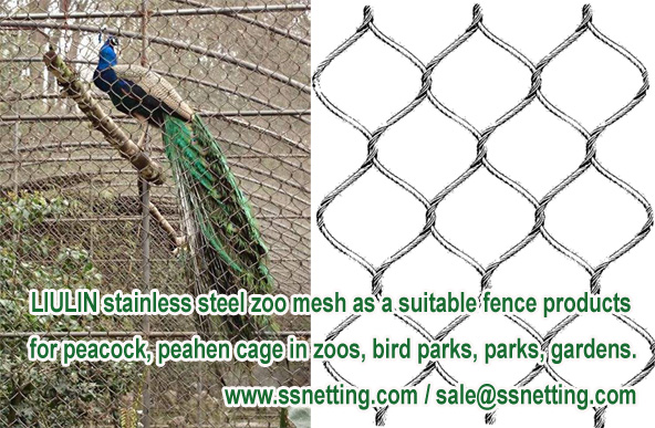 LIULIN stainless steel zoo mesh as a suitable fence products