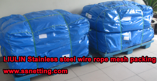 LIULIN Stainless steel wire rope mesh packing