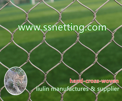 zoo fence mesh, zoo animal fencing manufacturer - stainless steel zoo mesh