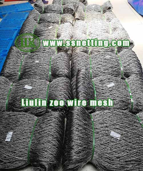 Hand-Woven Stainless Steel Netting panels