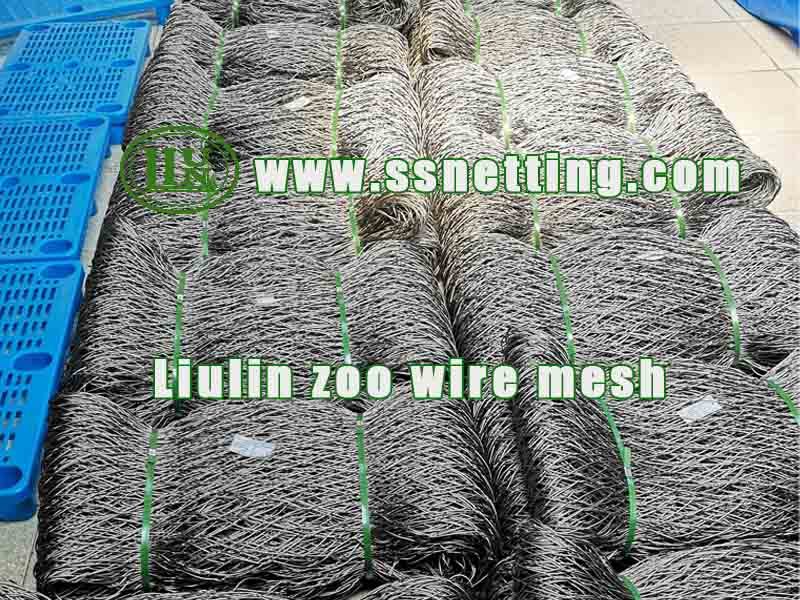 Hand-Woven Stainless Steel Netting Order Delivery