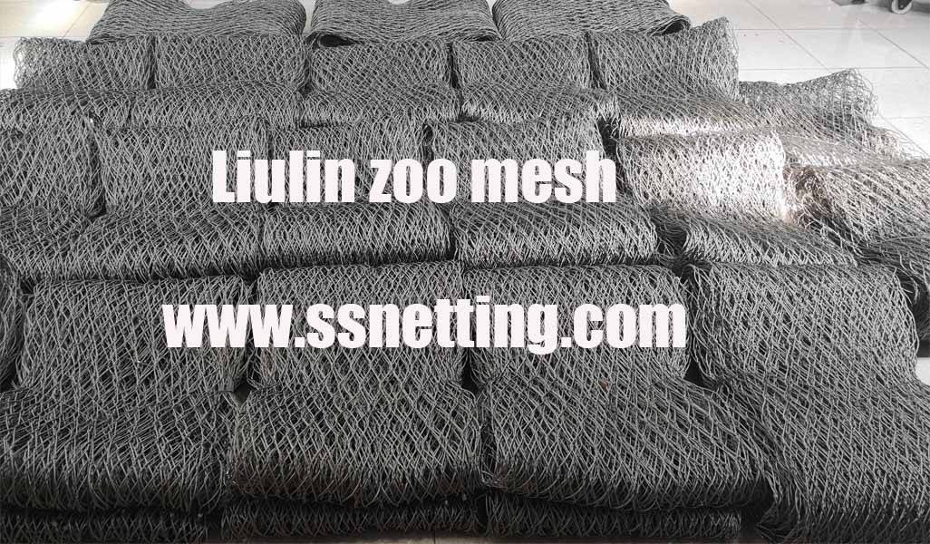Flexible Stainless Steel Animal Fence Mesh Order