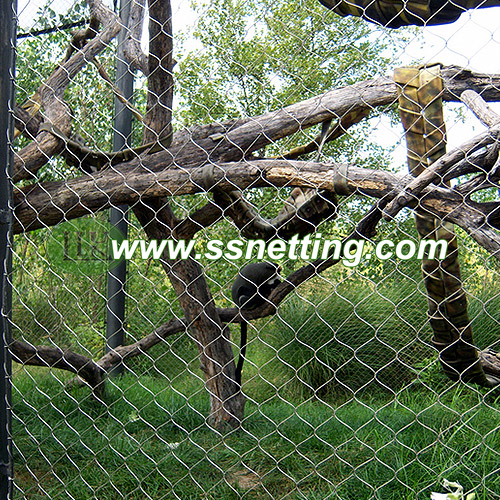 Zoo Animal Enclosure Mesh